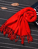 cheap -Imitation Cashmere Wedding Daily Wear Women's Wrap With Tassel Scarves