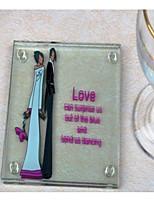 baratos -Fibra de Vidro Casamento Porta-Copos para Lembrancinha - 1 Peça/ Conjunto Casamento