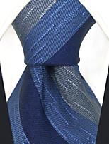 cheap -Men's Vintage Work Casual Silk Necktie - Striped