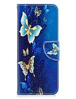 cheap -Case For Lenovo K8 Note Card Holder Wallet with Stand Flip Magnetic Full Body Cases Butterfly Hard PU Leather for Lenovo K8 Note