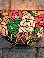 Недорогие -Деревенский Настенные светильники Назначение Спальня Стекло настенный светильник 220-240Вольт 40W