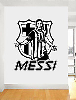 cheap -Famous Football Wall Stickers Plane Wall Stickers 3D Wall Stickers Decorative Wall Stickers, Paper Vinyl Home Decoration Wall Decal Wall