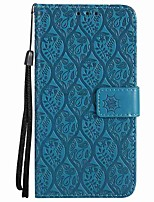 cheap -Case For Huawei P8 Lite (2017) P10 Lite Card Holder Wallet Shockproof with Stand Flip Full Body Cases Solid Color Hard PU Leather for P10