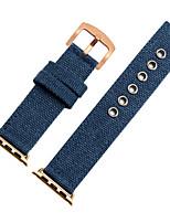 economico -Cinturino per orologio  per Apple Watch Series 3 / 2 / 1 Apple Chiusura moderna Nylon Custodia con cinturino a strappo
