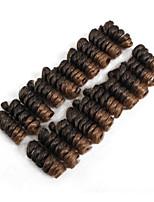 abordables -Rizo Kenzie Cabello estilo jamaicano Sintético 1 paquete Trenza de la torcedura Trenzas de cabello