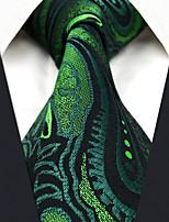 baratos -Homens Vintage Trabalho Casual Seda, Gravata Estampado Cashemere