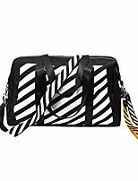 cheap -Women's Bags Nylon Tote Zipper for Casual All Seasons Black