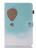 abordables -Coque Pour Samsung Galaxy Tab A 10.1 (2016) Portefeuille Avec Support Clapet Motif Mise en veille automatique Coque Intégrale Balloon Dur