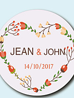 cheap -Floral/Botanicals Stickers, Labels & Tags - 10 Circular Envelope Sticker