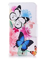 cheap -Case For Huawei P9 lite mini P10 Lite Card Holder Wallet with Stand Flip Magnetic Full Body Cases Butterfly Hard PU Leather TPU for P10