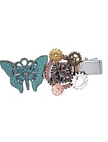 cheap -Women's Alloy Hair Clip - Color Block