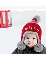 cheap -Unisex Hats & Caps, Winter Spring Knitwear Bandanas - Blue Red Yellow