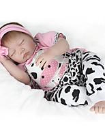 cheap -NPK DOLL Reborn Doll Baby 55cm Vinyl lifelike Cute Child Safe Parent-Child Interaction Simulation Lovely Non Toxic Children's Adults'