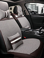 cheap -Car Seat Covers Headrest & Waist Cushion Kits Polyester Fabric For universal All years All Models