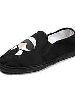cheap -Men's Shoes Fabric Spring Summer Driving Shoes Comfort Loafers & Slip-Ons Walking Shoes Side-Draped for Casual Outdoor Black