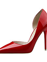cheap -Women's Shoes PU Spring Summer Comfort Basic Pump Heels Stiletto Heel Pointed Toe Closed Toe for Party & Evening Office & Career Pink