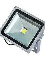 Недорогие -1шт 30W LED прожекторы Водонепроницаемый Декоративная Уличное освещение Тёплый белый Холодный белый AC85V-265V