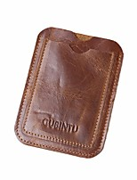 cheap -Men's Bags PU Coin Purse Tiered for Casual All Seasons Brown