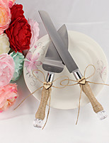 Недорогие -Металлические Свадьба День рождения Подарочная коробка Сервировочные наборы