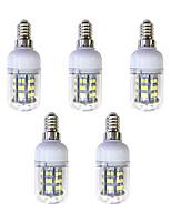 cheap -5pcs 3W 240 lm E12/E14 48 leds SMD 2835 LED Light White AC 220-240V