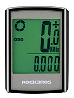Недорогие -CatEye® BC355 Велокомпьютер Датчик модуляций скорости Датчик частоты пульса Водонепроницаемость Безпроводнлй Израсходовано калорий
