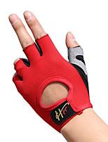 cheap -outdoor cycling fiber mittens non-slip breathable