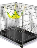 Недорогие -Коты Поднос Клетки Дома Животные Подкладки Однотонный Складной Прочный Эластичный Серебряный Для домашних животных