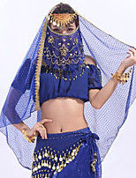 cheap -Belly Dance Ordinary Women's Training Tulle MiniSpot Veil
