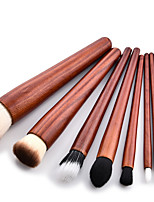 cheap -9pcs Eyeshadow Brush Makeup Brush Set Synthetic Hair Eco-friendly Beech Wood Face
