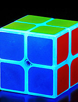 cheap -Rubik's Cube 2*2*2 Smooth Speed Cube Magic Cube Puzzle Cube Office Desk Toys Stress and Anxiety Relief Noctilucent Classic Theme Square