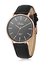 cheap -Women's Fashion Watch Casual Watch Chinese Quartz Casual Watch Leather Band Minimalist Fashion Black White Brown