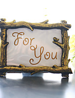 cheap -Resin Photo Frame Place Card Holder Beter Gifts® Wedding Decors