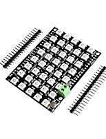 cheap -full color drive led rgb 40 bit 5*8 rectangle ws2812