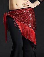 baratos -Dança do Ventre Comum Mulheres Treino Poliéster Cinto Mocassim Xale de Dança do Ventre