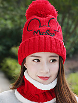 cheap -Cotton Floppy Hat, Casual Winter Fall White Black Red Blushing Pink Wine