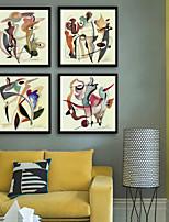 economico -Astratto Paesaggi Illustrazioni Decorazioni da parete,Plastica Materiale con cornice For Decorazioni per la casa Cornice Salotto Al