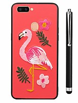cheap -Case For Vivo vivo X20 Plus vivo X20 Pattern Back Cover Flamingo Animal Soft TPU for Vivo X20 Plus Vivo X20