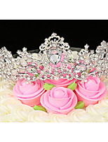 cheap -Cake Topper Romance Wedding Party/Evening Alloy Wedding with Rhinestone 1 Gift Bag