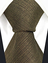 cheap -Men's Vintage Work Casual Silk Necktie - Solid