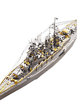 cheap -Piececool DIY NAGATO CLASS BATTLESHIP 3D Metal Puzzle Assembly Model Puzzle Creative Toys