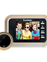 Недорогие -denimini w8 2.4-дюймовая камера видео электронная кошачий дверной звонок не нарушает видео камеры наблюдения и другие функции