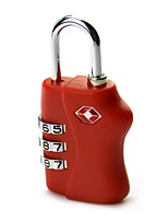 cheap -the customs code locks 4 boxes of travel bag password padlock metal four lock tsa338