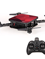 abordables -RC Drone HYS01 4 canaux 6 Axes 2.4G Avec l'appareil photo 0.3MP HD Quadri rotor RC Tenue de hauteur WIFI FPV Retour Automatique Mode Sans