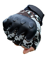 cheap -source manufacturers tactical gloves male semi-manual camouflage fitness outdoor sliding wear-resistant combat training gloves
