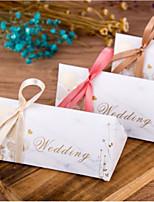 preiswerte -Anderen Kartonpapier Geschenke Halter mit Satin Schleife Muster / Druck Geschenkboxen - 1pc