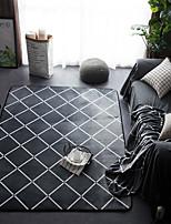 Недорогие -творческий Modern Коврики Фланелет, Высшее качество Прямоугольный геометрический плед