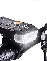 cheap -Bike Lights Smart Lights LED Cycling Waterproof 600 Lumens White Camping/Hiking/Caving Cycling/Bike