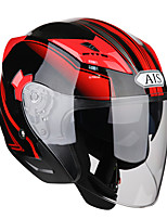 cheap -ais r1-708  motorcycle half helmet cover  four seasons general prevent mist personality a safety helmet abs material
