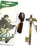 economico -Altri accessori Ispirato da Attack on Titan Eren Jager Anime Accessori Cosplay Cromo