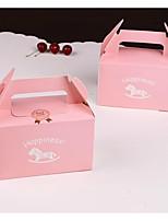 preiswerte -Square Shape Kartonpapier Geschenke Halter mit Geschenkboxen Kuchenverpackung und Boxen - 1pc